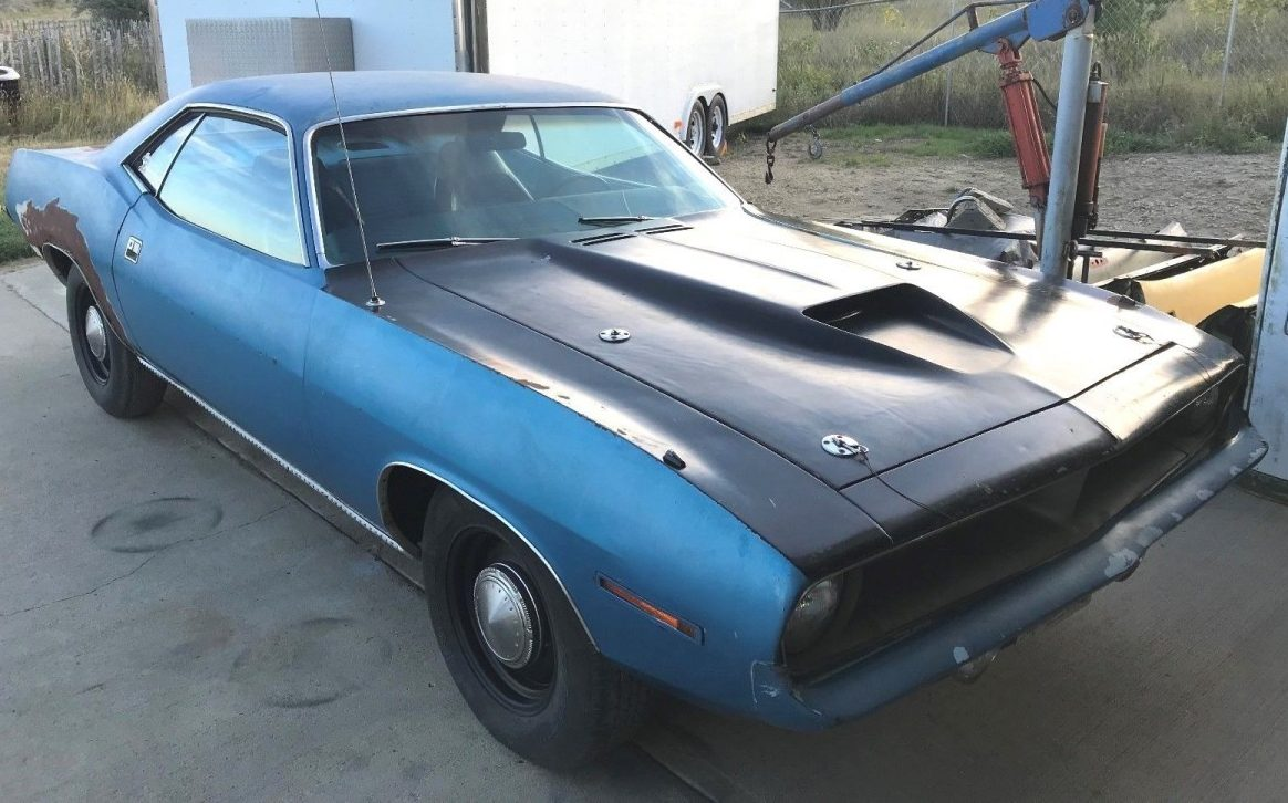 Dodge Challenger For Sale >> Ultimate Barn Find? 1970 Plymouth Barracuda