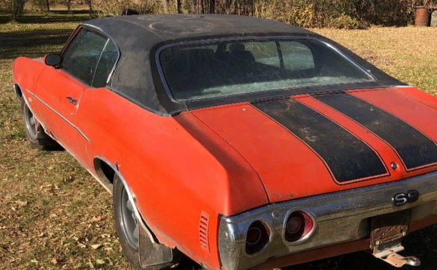 30-Year Shed Find! 1972 Chevrolet Chevelle SS