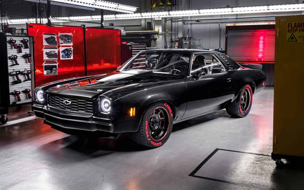 Chevrolet Chevelle Laguna Fitted With Lt Liter Supercharged V Crate Engine L