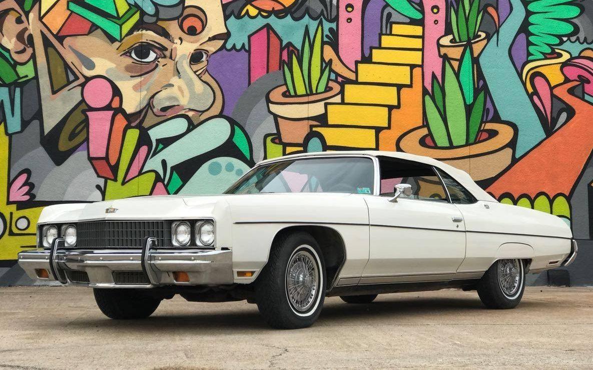 Big Survivor: 1973 Chevrolet Caprice ConvertibleBarn Finds