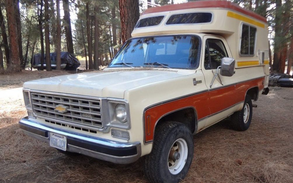 Rare Camper: 1976 Chevrolet Blazer Chalet