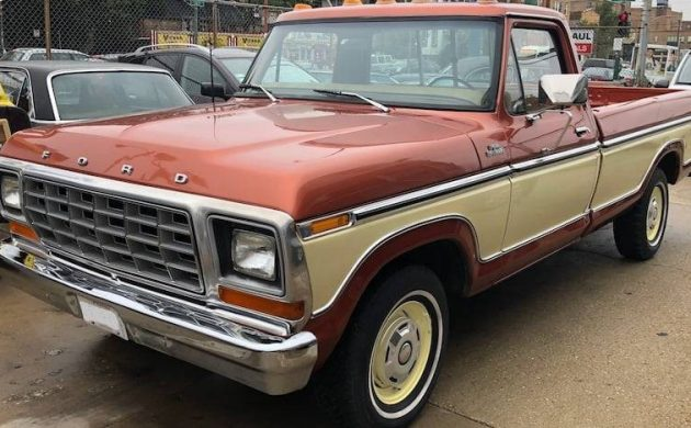 17K Mile Barn Find Survivor! 1979 Ford F150