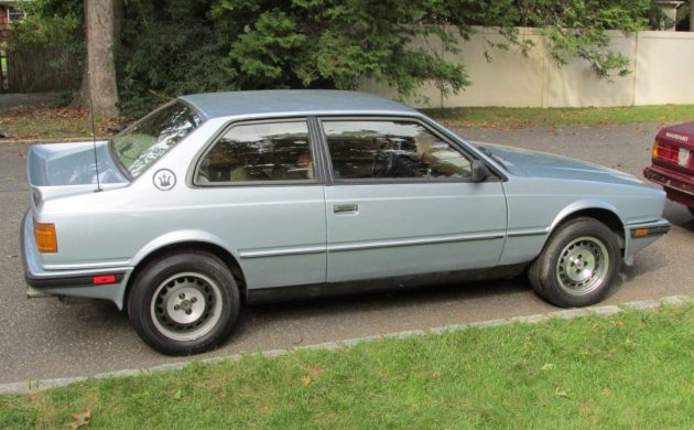 Rare Turbo: 1987 Maserati Biturbo SI Black Edition