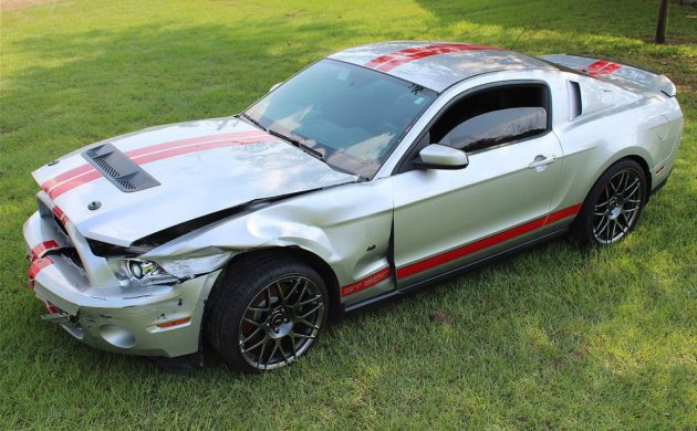 Salvage Shelby: 2011 Ford Mustang Shelby GT500