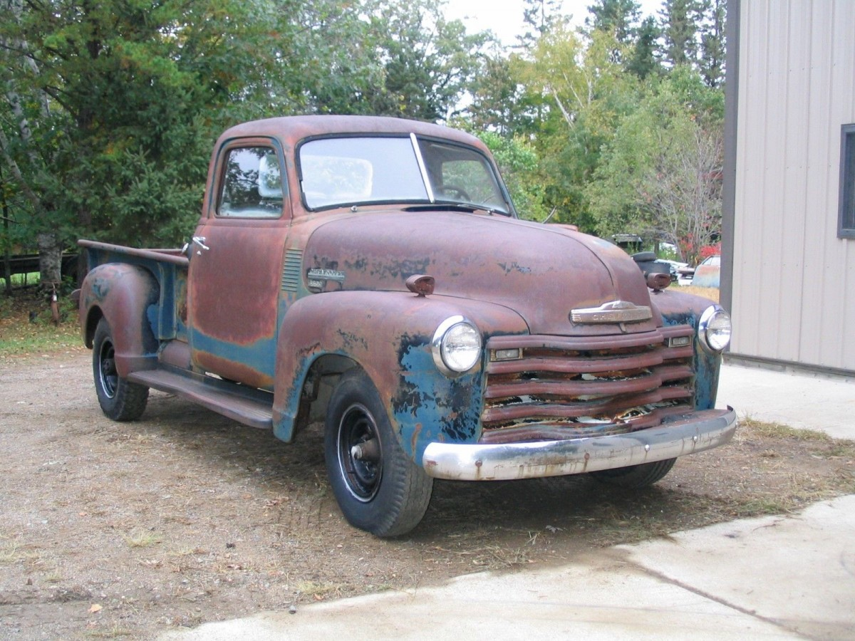 Winter Project 1949 Chevrolet 3600 Pickup Chevy Truck Frame Swap