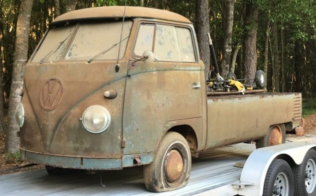 Solid Barn Find: 1961 Volkswagen Pickup