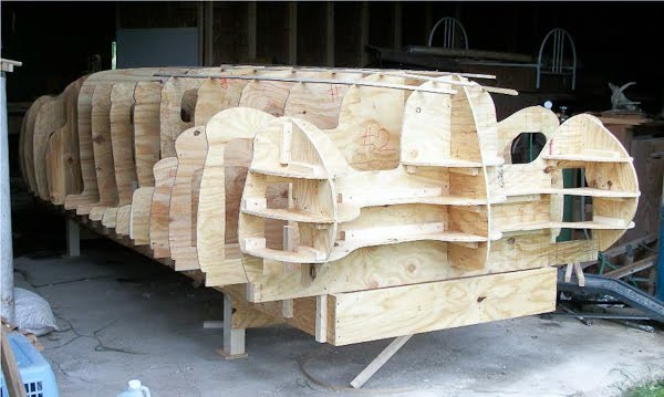 Roll Your Own Classic: Delahaye 165 Wood Forming Buck