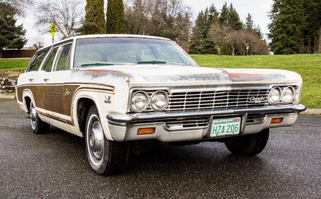 Big Block Survivor: 1966 Chevrolet Caprice Wagon