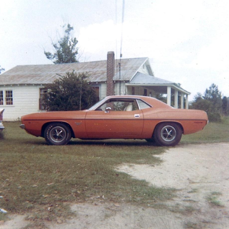 1970 Plymouth Barracuda Convertible Project Car