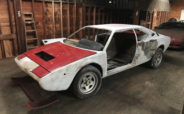 Rare Roller: 1976 Dino/Ferrari 208 GT4