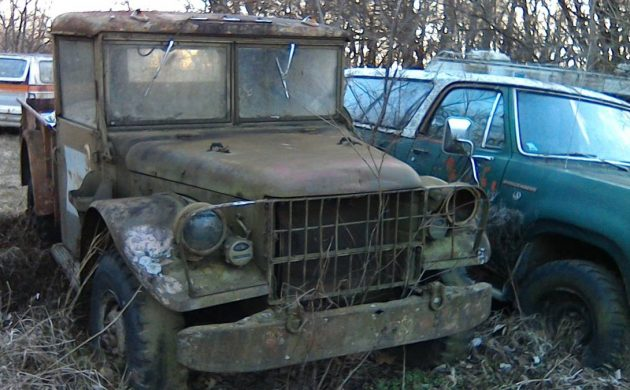 Trio Of War Wagons: Dodge M-37 Military Trucks