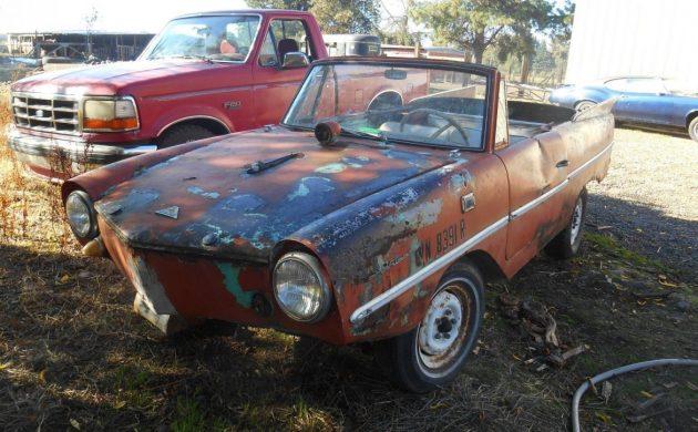 Saved from Scrapyard: 1964 Amphicar