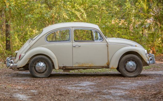 Barn Stored For 15 Years: 1967 VW Beetle