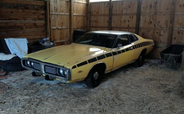 Stored Since '99: 1973 Dodge Charger Brougham SE