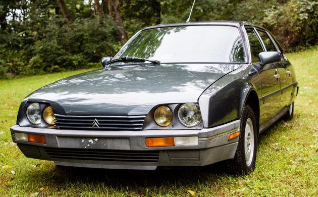 S Class Opposite: 1987 Citroën AX CX Pallas