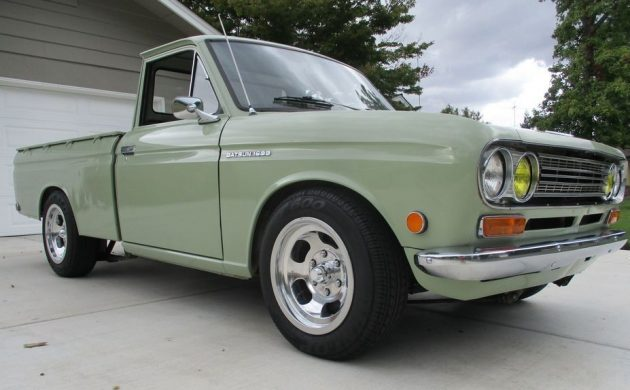 California 2 Owner Truck 1970 Datsun 521