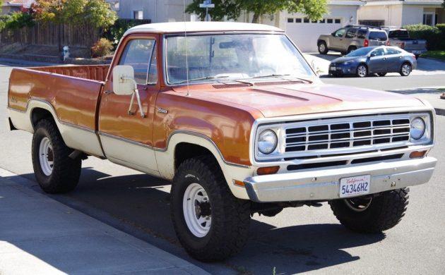 Honest 4×4: 1974 Dodge Power Wagon Adventurer