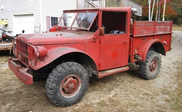 Ready for Winter: 1954 Dodge M37