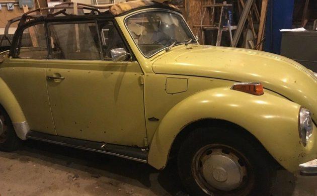 Cabriolet Project: 1972 Volkswagen Beetle