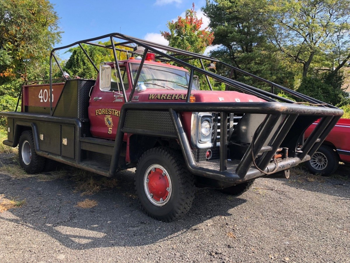 Forestry Duty 1978 Ford F700