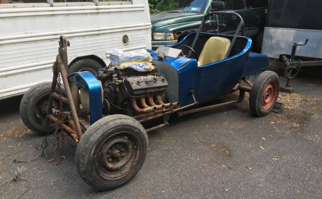 Historic Racer: 1923 Ford Roadster Altered