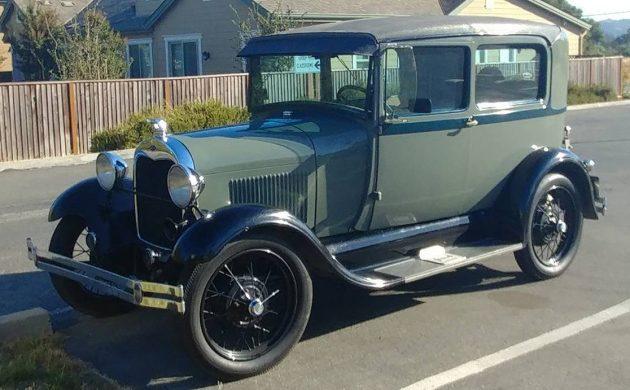 A Nice Example: 1929 Ford Model A Tudor