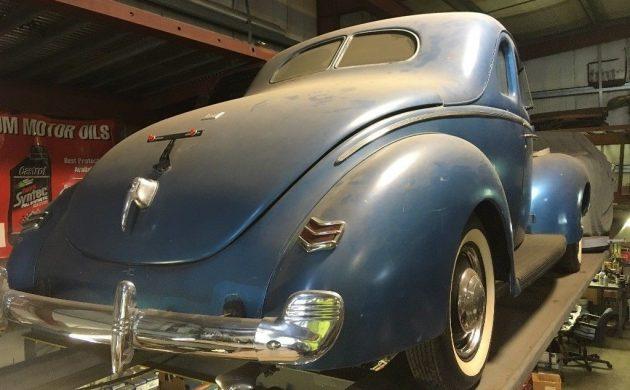 Original Barn Find: 1940 Ford De Luxe Coupe
