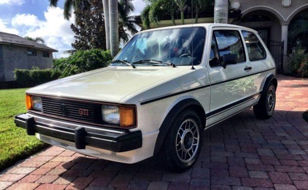 32k Original Miles: 1984 VW GTI
