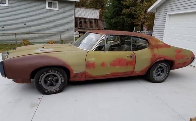 Stored For 30 Years: 1968 Pontiac GTO