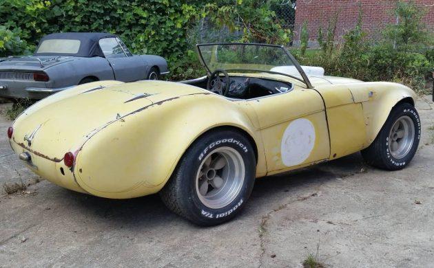 Racer or Restoration? 1956 Austin Healey 100/4