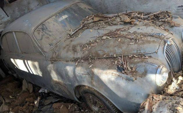 Shed Find: 1964 Jaguar Mk. II