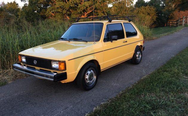 Preserved Diesel: 1981 VW Rabbit