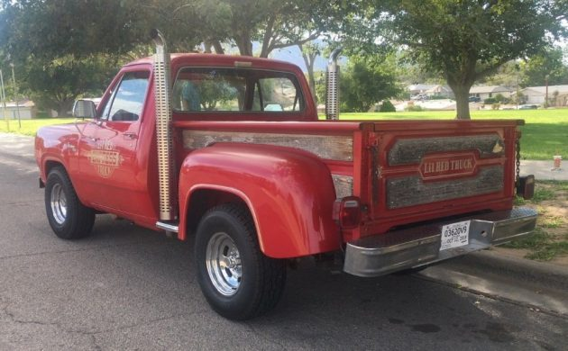 Malaise Muscle: 1979 Dodge Li'l Red Express