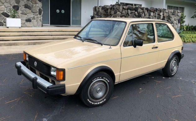 Low Mileage VW: 1982 Volkswagen Rabbit