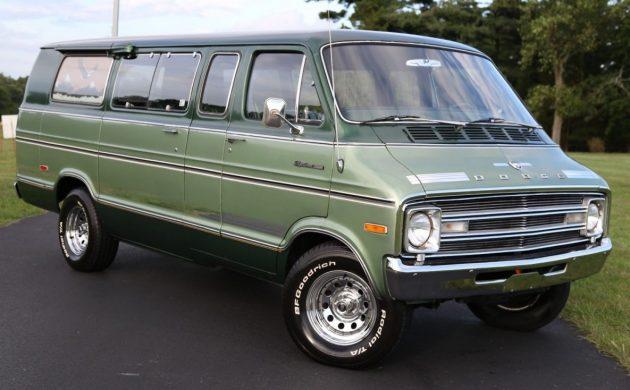 Nicest Left? 16k Mile 1977 Dodge Sportsman Van