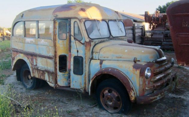 Rare Short Bus: 1948 Dodge 2 Window School Bus