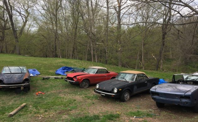 A House Full Of Spiders: Fiat 124 Spider Package Deal
