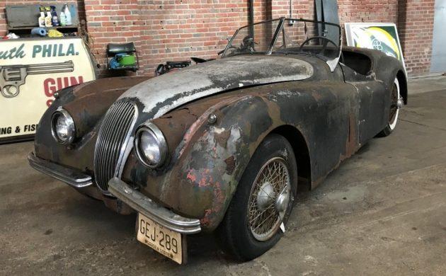 Major Project: 1954 Jaguar XK120 SE