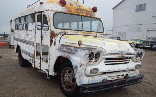 Short Bus: 1958 Chevrolet Superior School Bus