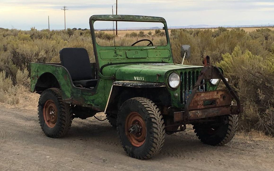 Jeep Lj For Sale >> All Original Driver: 1949 Willys Jeep
