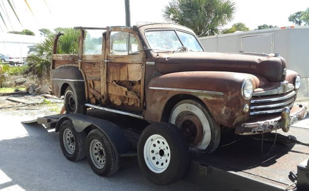 Full Restoration Required: 1948 Ford Woody