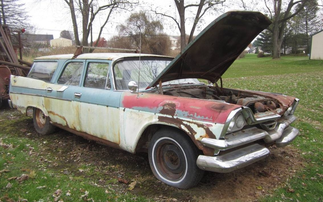 Parts Car Or Project? 1957 Dodge Sierra Wagon