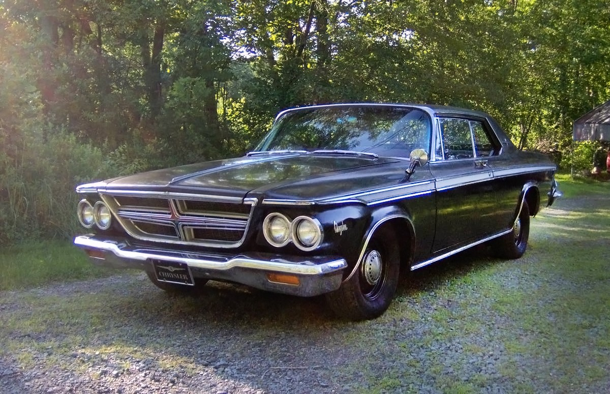 3 500 steal 1964 chrysler 300 hardtop coupe. Black Bedroom Furniture Sets. Home Design Ideas