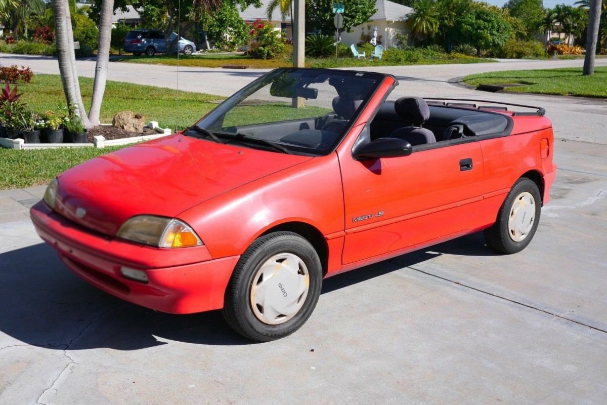 Tiny Barn Find 1991 Geo Metro Lsi For Sale