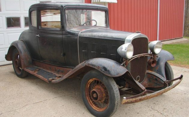 Rare Barn Find! 1932 Chevrolet Coupe