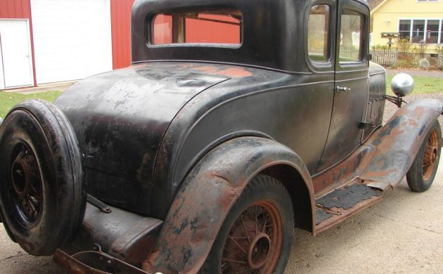Rare Barn Find! 1932 Chevrolet Coupe