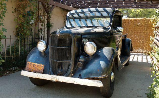 30-Year California Barn Find! 1936 Ford Pickup