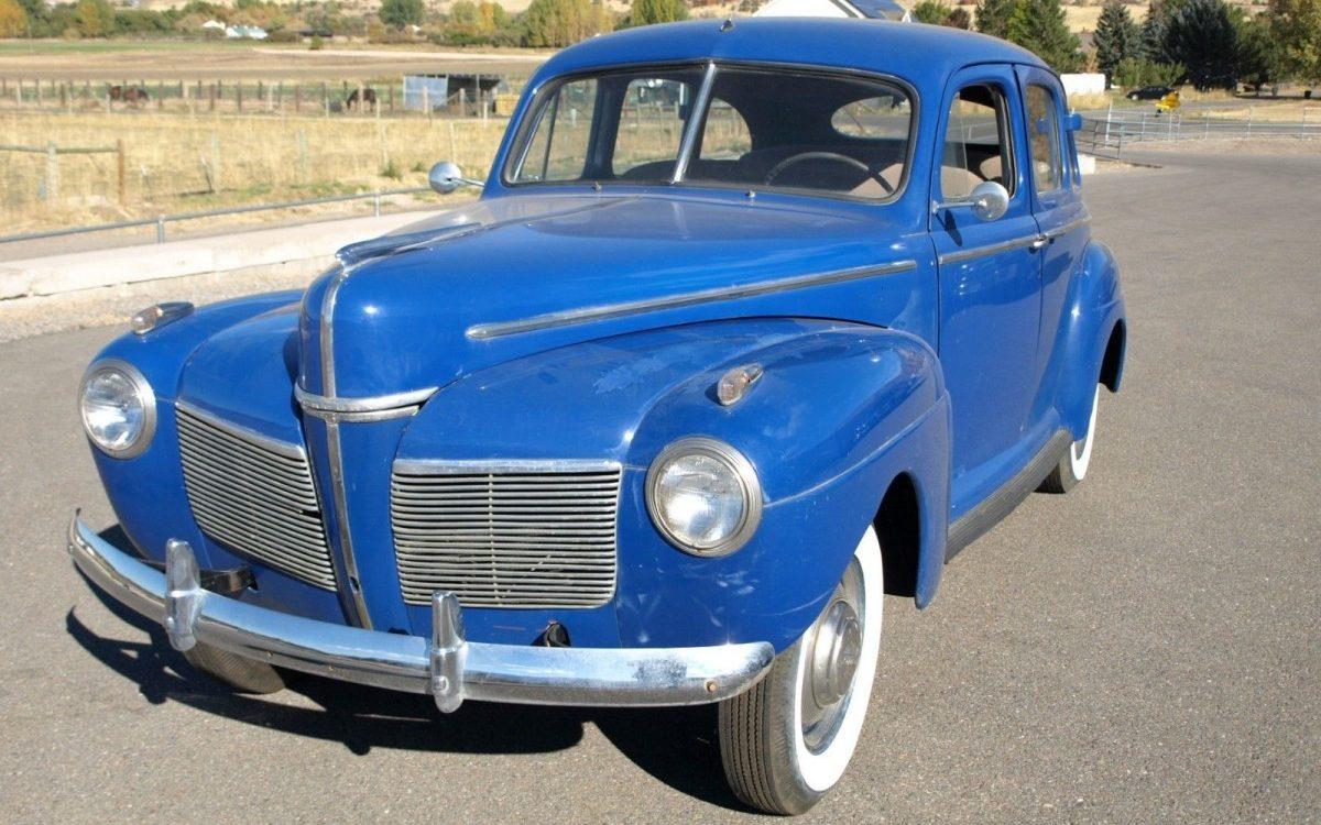1941 Mercury 4 Door Sedan
