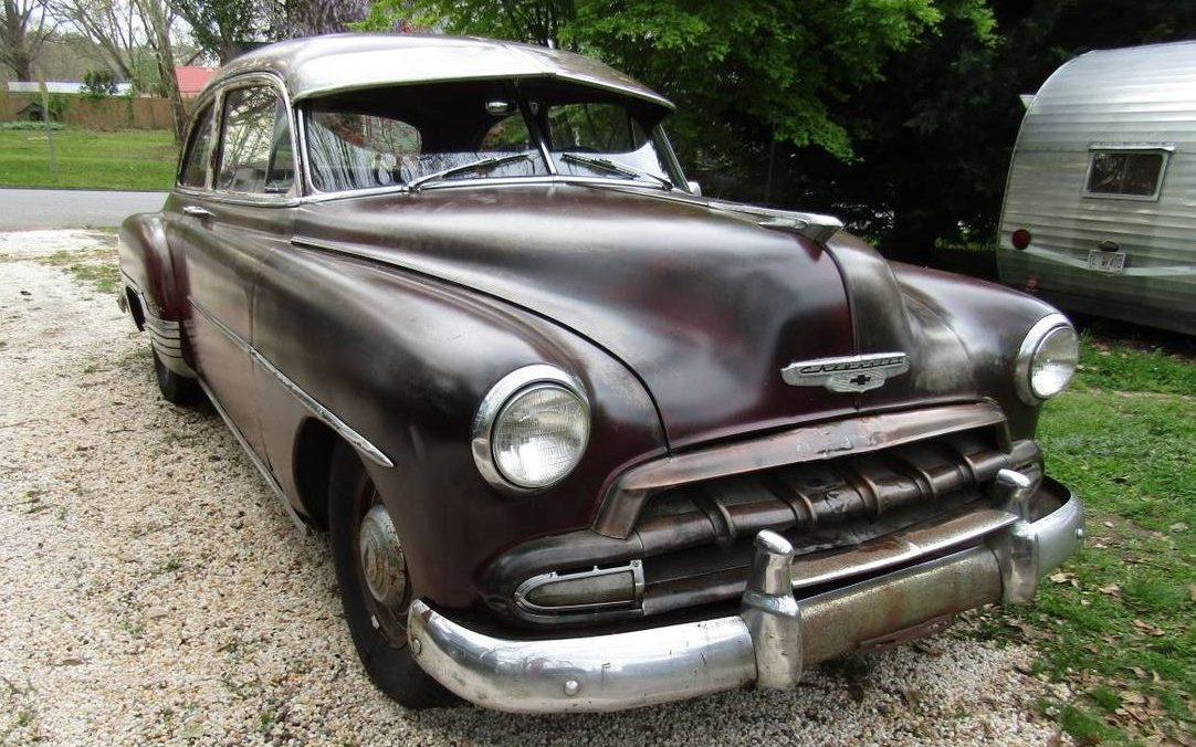 A Simpler Time  1952 Chevrolet Styleline Deluxe