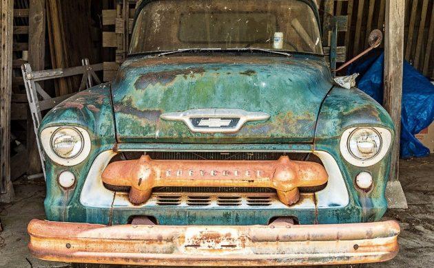 Still In The Barn: 1955 Chevrolet 4400